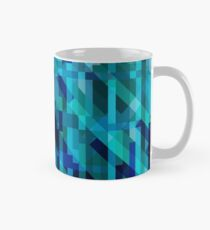 abstract composition in blues Classic Mug