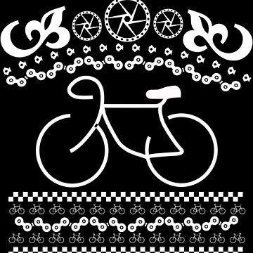 Bike Xmas Christmas Ugly by NovaPaint