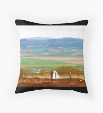 Inishowen Wedding - Donegal Throw Pillow