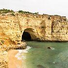 Costa De Oiro - the Gold Coast Algarve Portugal by Georgia Mizuleva