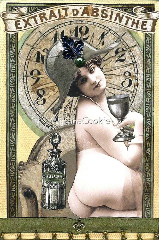 Absinthe Cocktail by WinonaCookie