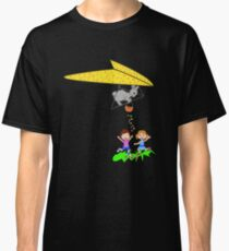 Easter Bunny on Kite  Classic T-Shirt