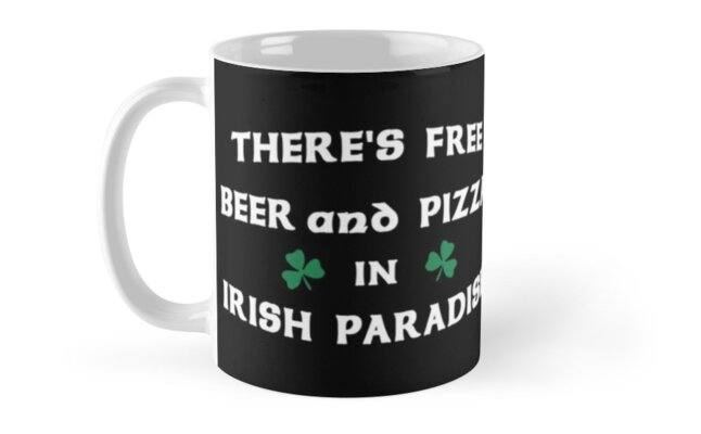 St Patricks Day Irish Paradise Funny Gift T-Shirt. by maxxexchange
