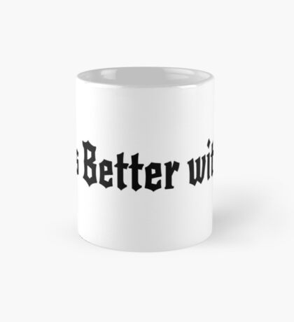 Life is Better with Sin (pink) Mug