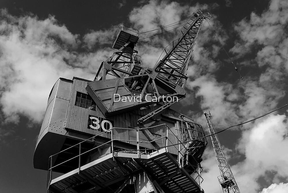 Dockside crane, Bristol waterfront by David Carton