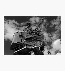Dockside crane, Bristol waterfront Photographic Print