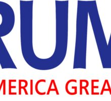 Official Donald Trump-Pence 2016 for President Campaign Sticker (Pack of 5)