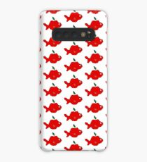 Finley the Fish Apple Case/Skin for Samsung Galaxy