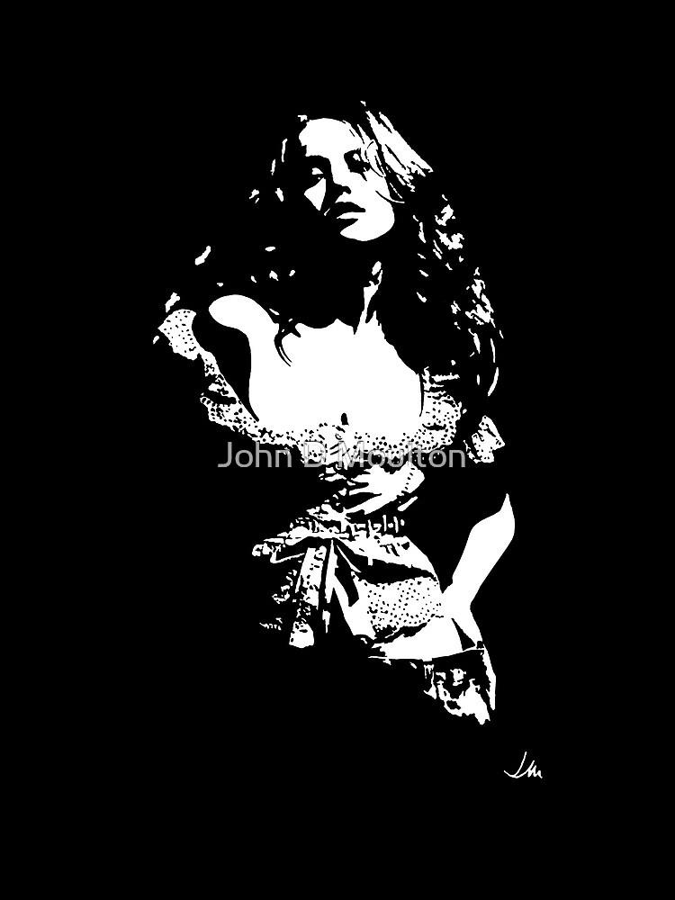 """Jess"" Moonlight Cameo Art by John D Moulton"