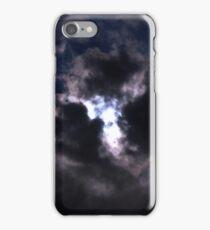 Moon Lite Clouds iPhone Case/Skin
