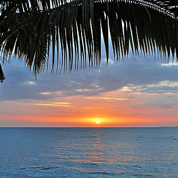 Another tropical sunset by kllebou