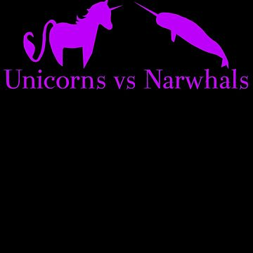Unicorns vs Narwhals by sorakaji