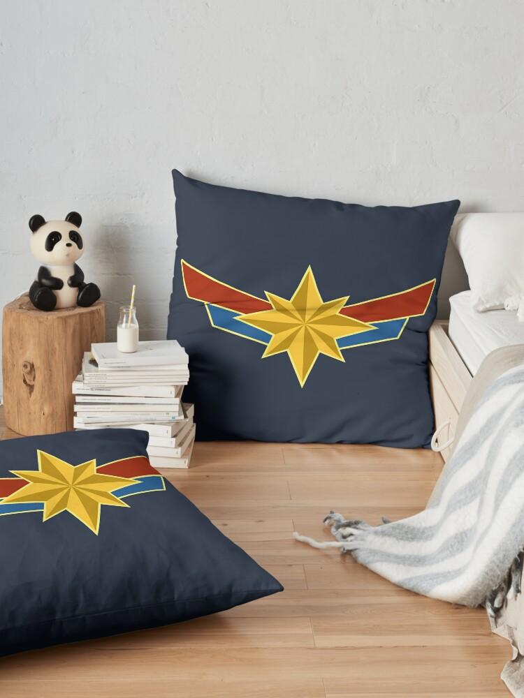 Alternate view of Super Heroine Floor Pillow