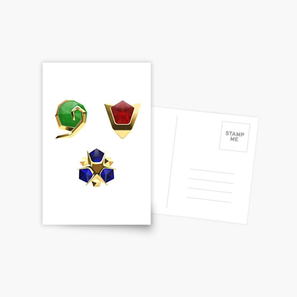 Die drei Steine Postkarte