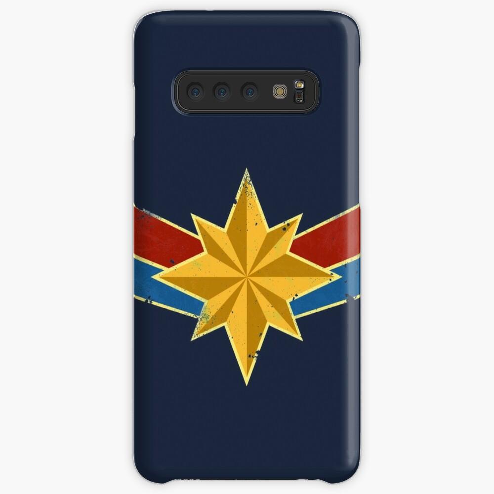 Super Heroine (Aged) Samsung Galaxy Snap Case
