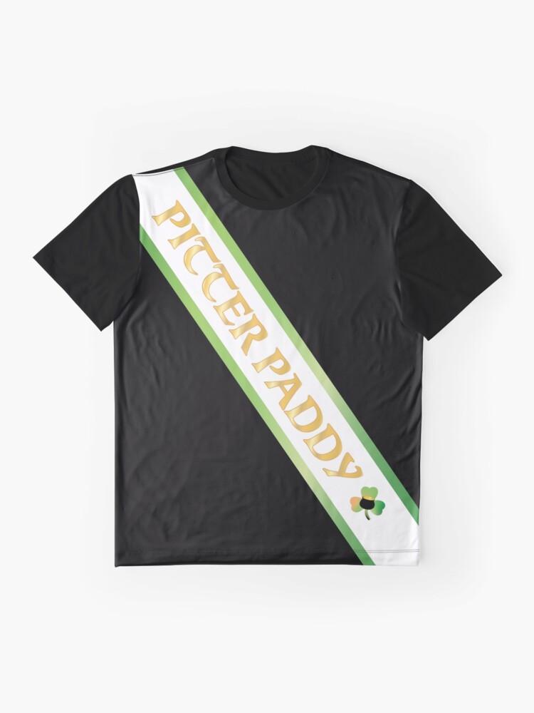 Vista alternativa de Camiseta gráfica Pitter Paddy Letterkenny