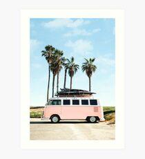 Venice Beach Kunstdruck