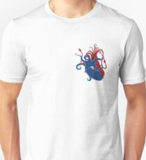 My Heart is an Angry Cephalopod Unisex T-Shirt