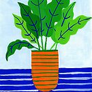 Potted plant I by idriera