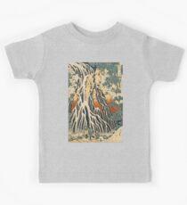 HOKUSAI, Kirifuri-Wasserfall, von Katsushika Hokusai Kinder T-Shirt