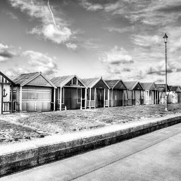 Sutton On Sea Black And White by tommysphotos