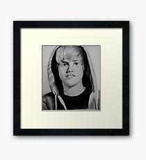 justin Framed Print