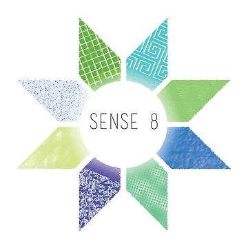 Sense8 Star Logo Green by Dersee