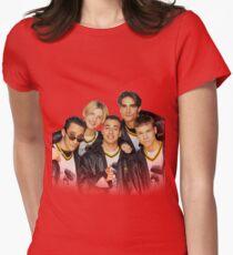 90er Backstreet Boys Tailliertes T-Shirt für Frauen
