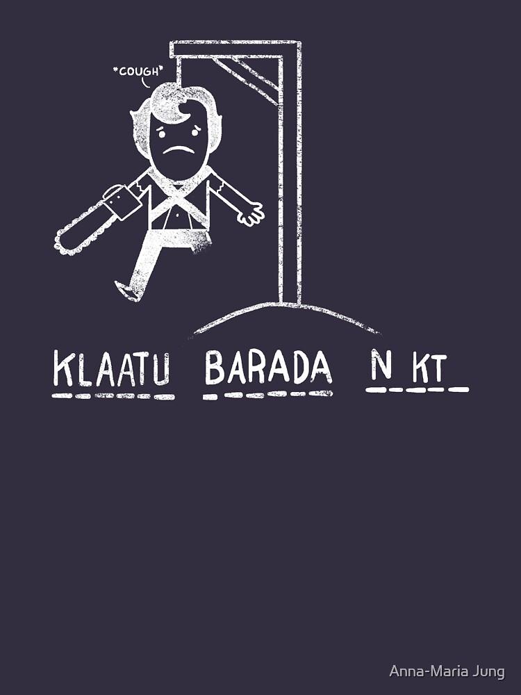 Klaatu Barada Ni..cough von Queenmob