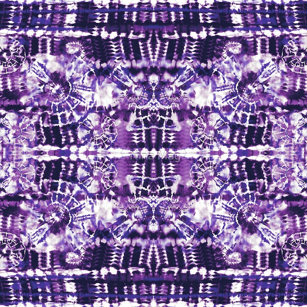 Tie-Dye Spiral Shibori by Nina May