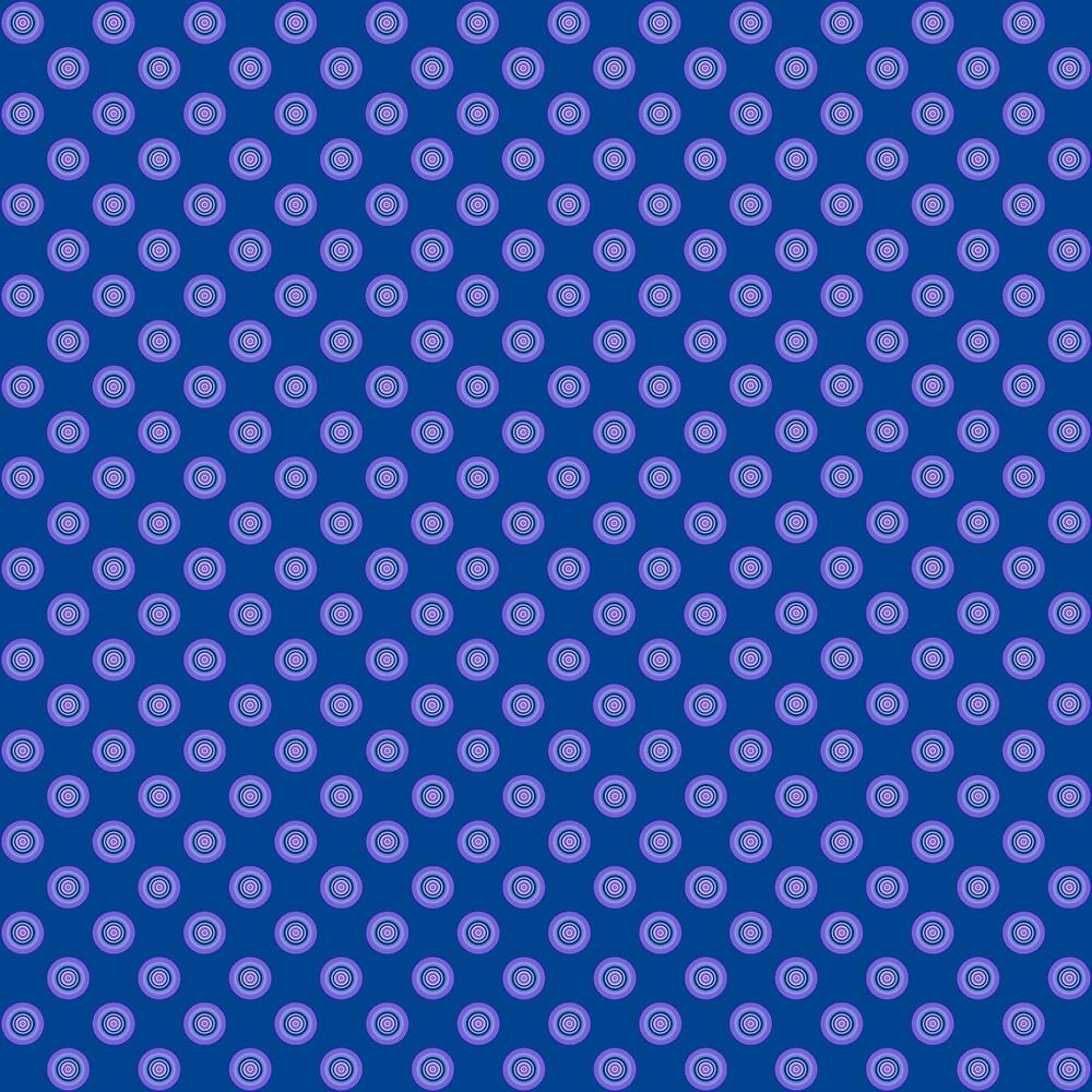 Lavender Blue Polka Dot Pattern by plantita