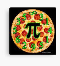 Pizza Pi Day Canvas Print