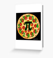 Pizza Pi Day Greeting Card