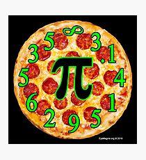 Pizza Pi Day Photographic Print