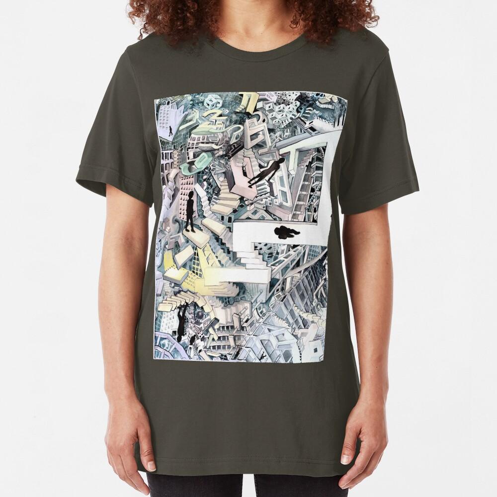 Shadow World Slim Fit T-Shirt