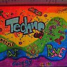Techno  by hallucingenic