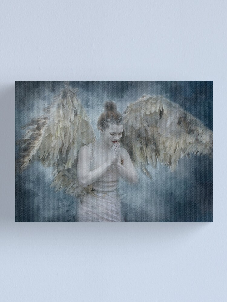 Alternate view of Angel of Mercy Canvas Print