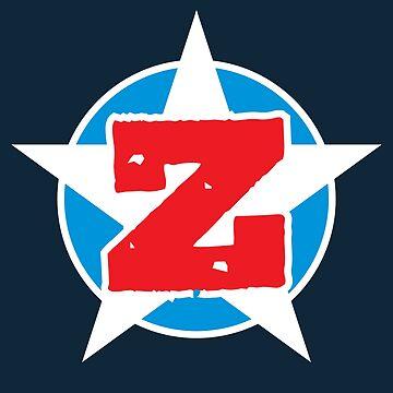 Zion Superhero Letter Z by DOODL