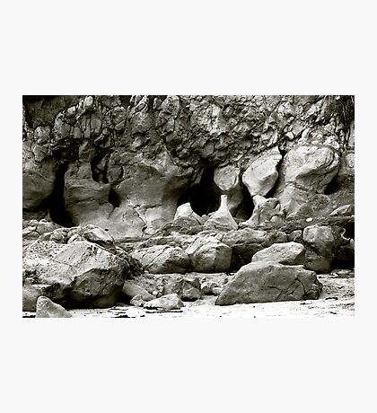 Caves and Rock Formations Photographic Print
