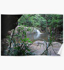 Waitui Falls - The Garden of Eden! Poster