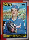 459 - Wally Whitehurst by Foob's Baseball Cards