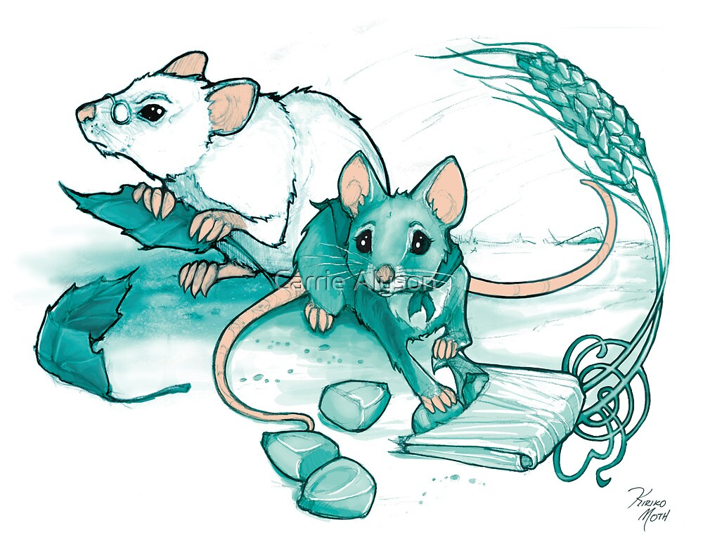 Mice's Harvest by Carrie Alyson