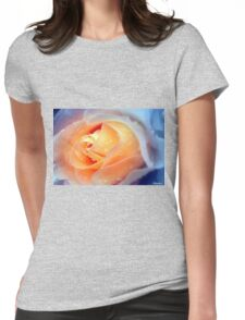 Raindrops On Roses Womens Fitted T-Shirt