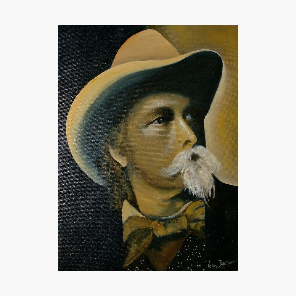 "William Cody alias ""Buffalo Bill"" Photographic Print"
