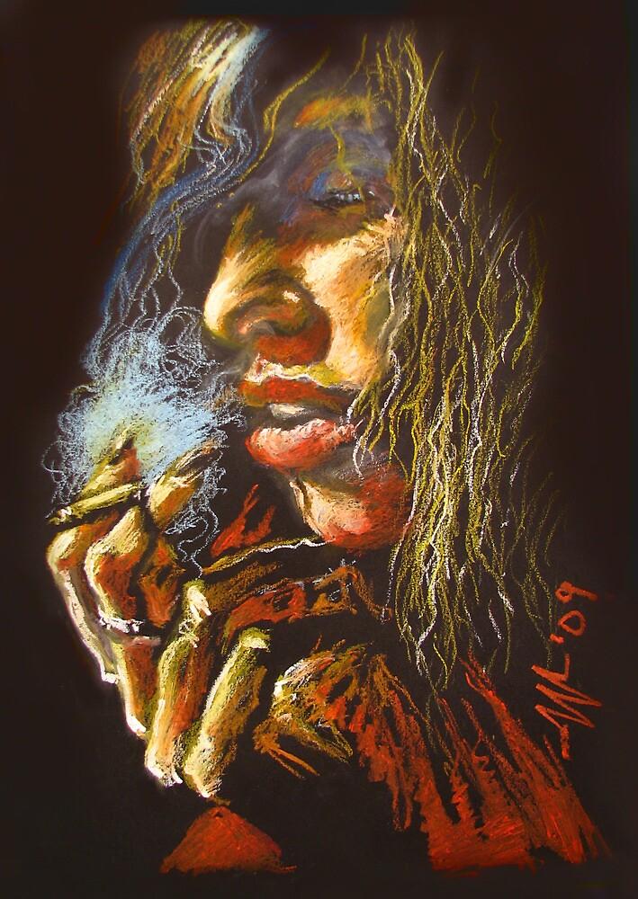 The Smoking Senorita by christo wolmarans
