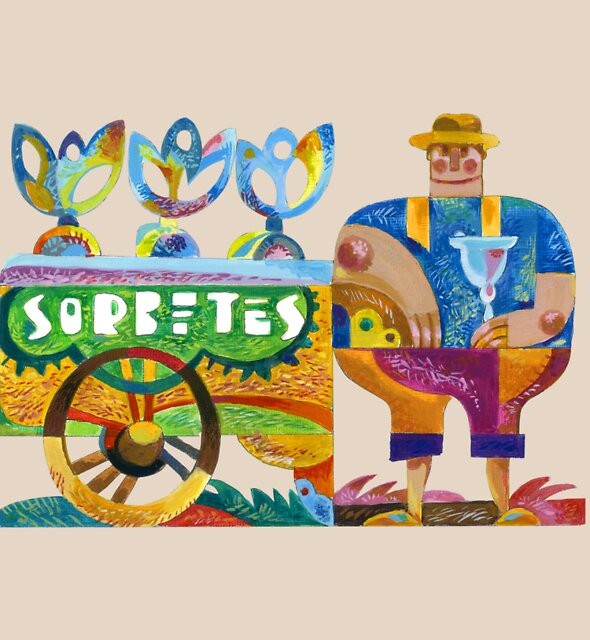Sorbetero (Ice Cream Man) by Lito Yonzon
