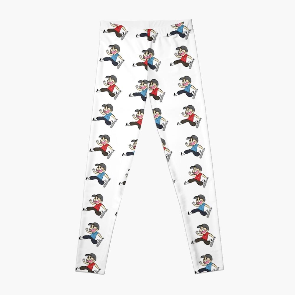 TF2 Red und Blu Scout Muster und Stickerbogen Leggings