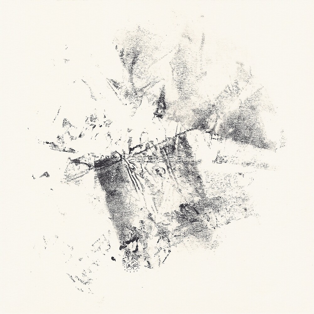 Series Alveoli #2 - Monotype -  by Pascale Baud