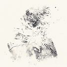 Series Alveoli #3 - Monotype -  by Pascale Baud
