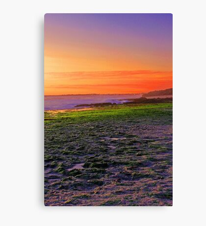 North Beach At Sunset  Canvas Print